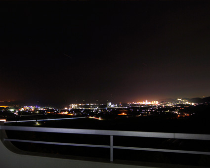 夜景を楽しむ